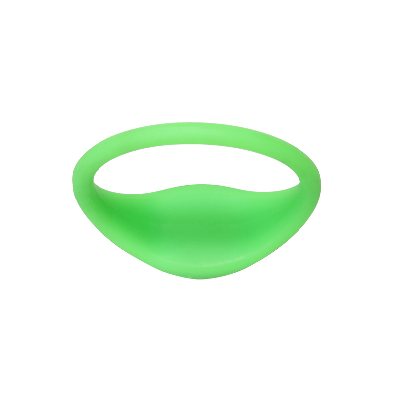 GJ06 RFID Silicone Wristbands Bracelets Fine Edge Rubber Bands