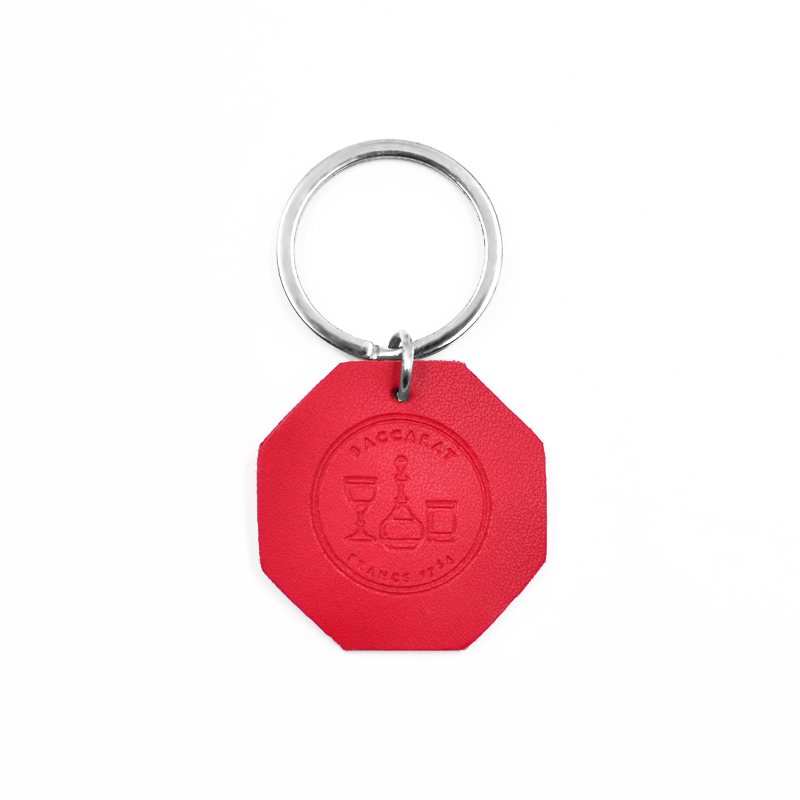 PG01 RFID Waterproof PU leather Key Fob RFID Token Key Tag For access control