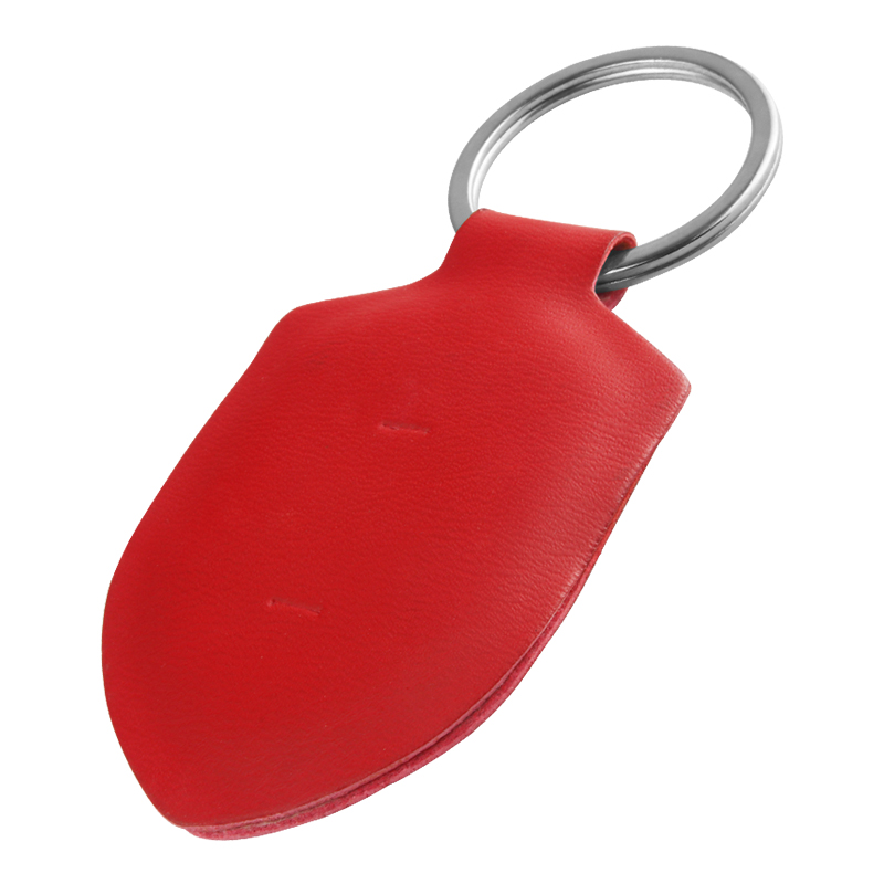 PG07 RFID Key Fob Waterproof  leather Key Tag For access control