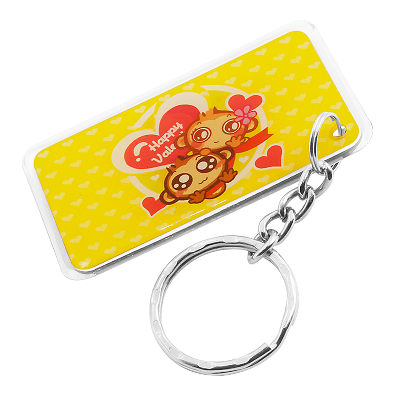 DJ11 RFID Epoxy Key fob Waterproof NFC key chain key holder