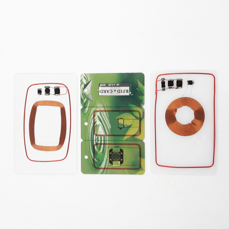 RFID PVC Dual Frequency IC ID Smart Card NFC Printed Card for Access Control