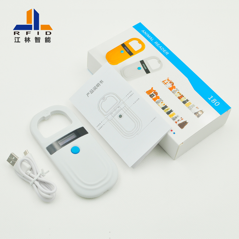 RFID ISO11784/5 FDX-B ID64 Animal Tags Reader Label Scanner Handheld Pet Identification Reader