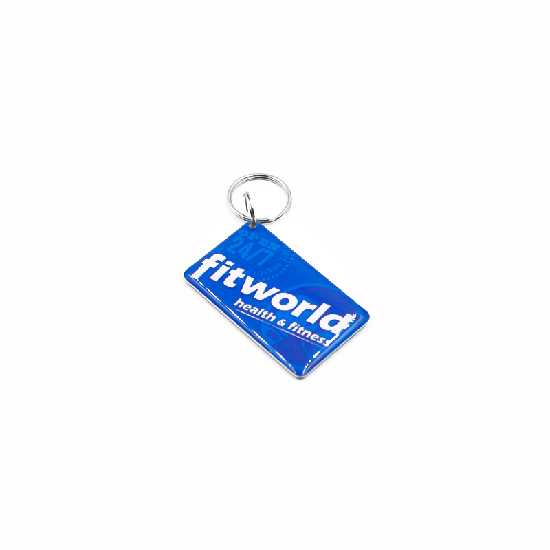 RFID Crystal Epoxy Key fob NFC TK4100 Card Waterproof key chain key holder for Access control,Payment