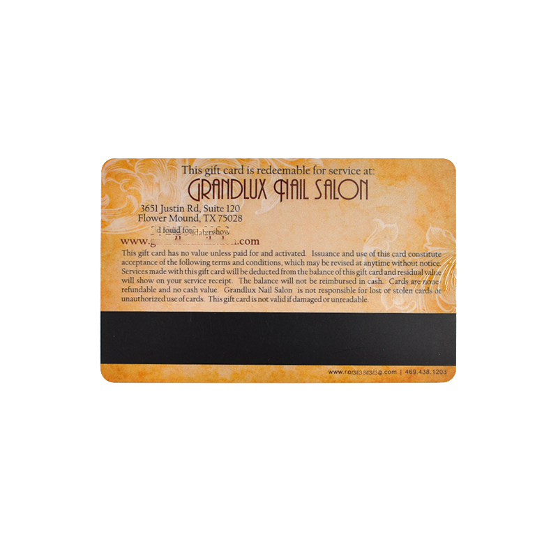 RFID Magnetic Stripe IC Card NFC Smart Card Printed Card