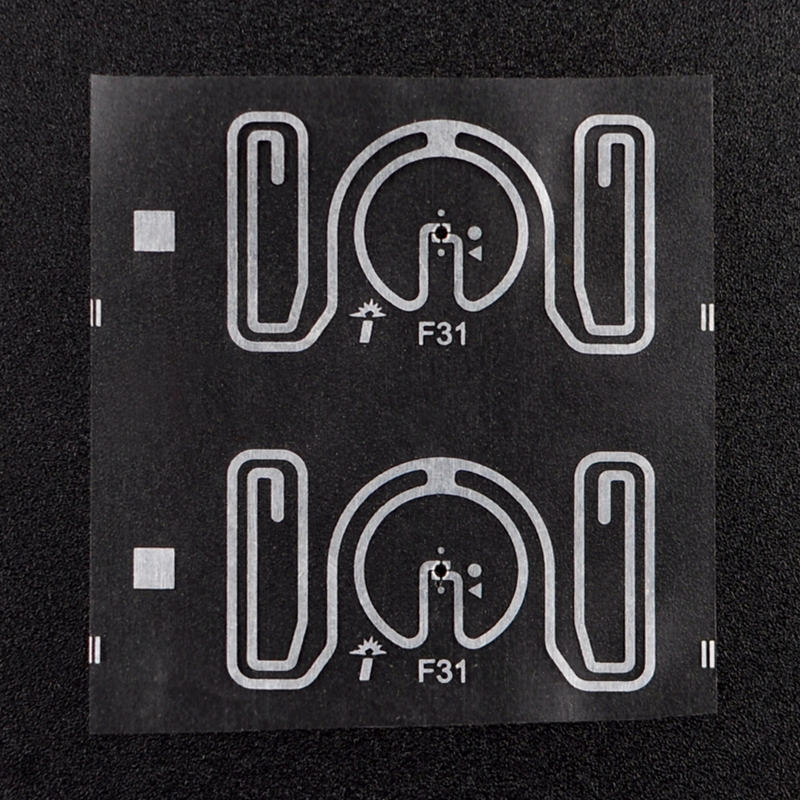 RFID UHF H3 Dry Inlay Tags Electronic Labels for Book Asset management